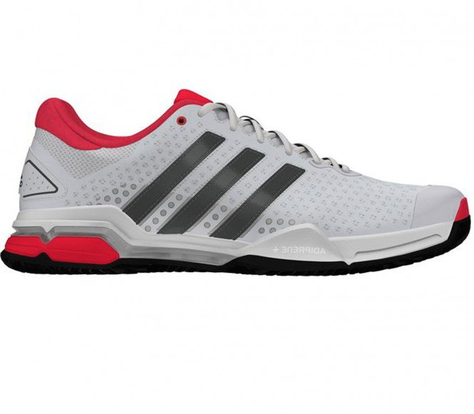 Adidas Barricade Team 4 Clay Herren Tennisschuh EU 47 1-3 UK 12 wit