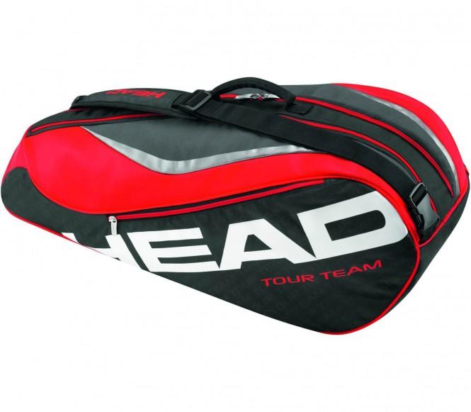 Tour Team 6 R Combi Tennistasche (schwarz/rot)