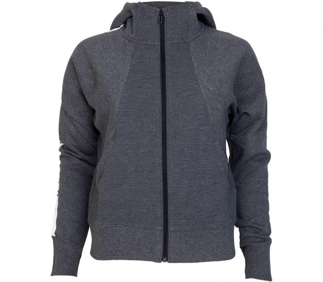 Under Armour - Better Europe Fleece Full-Zip sweat à capuche de training pour femmes (gris) - S
