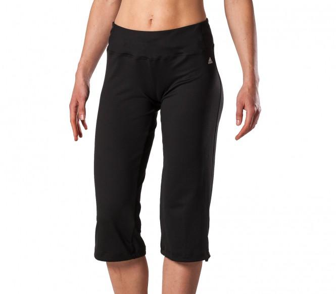 Adidas Fitness- en Trainingsbroek Heren Studio Pure Classic 3-4 Broek XS zwart