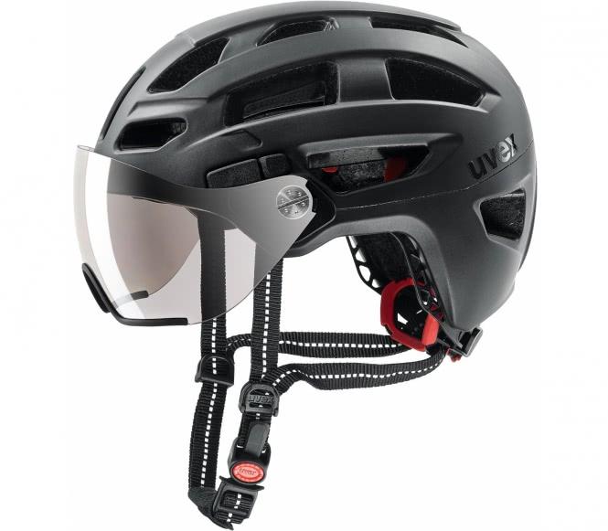Uvex - Finale Visor Bike Helm (schwarz) - 56 - ...