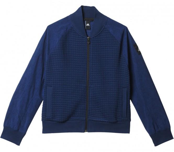 Moonwash Bomber Damen Trainingsjacke (dunkelblau) - M