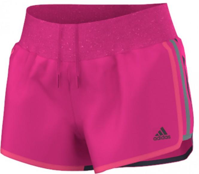 Adidas Aktiv Marathon 10 dames hardloopshorts (donkerroze) M
