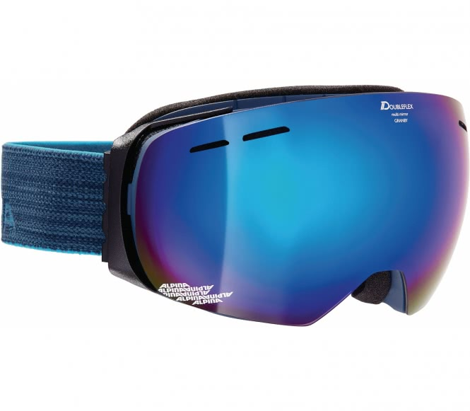Alpina - Granby Unisex Skibrille (blau)