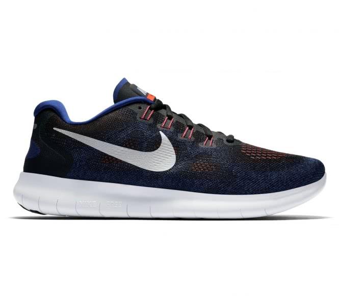 Nike free rn 2017 hommes chaussure de course noirbleu eu 405 us 75