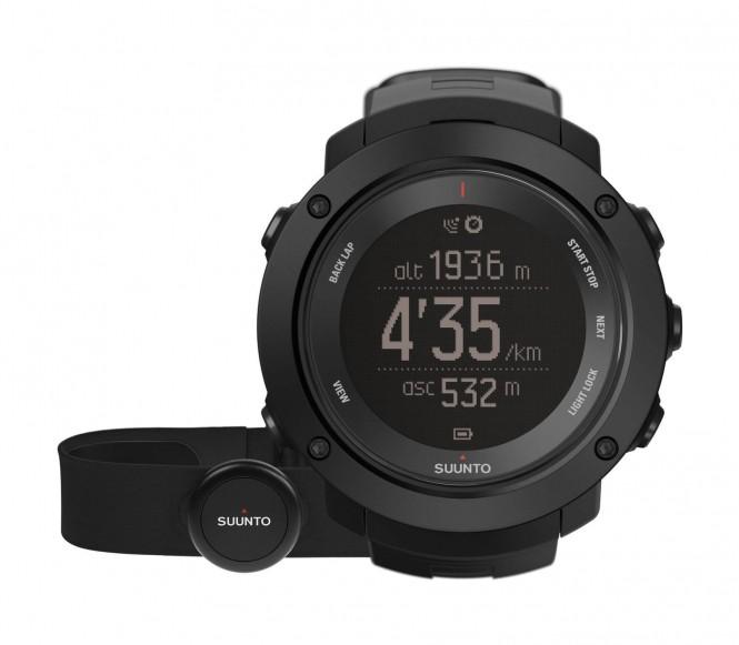 Suunto - Ambit Vertikal HR Outdoor Uhr (schwarz)