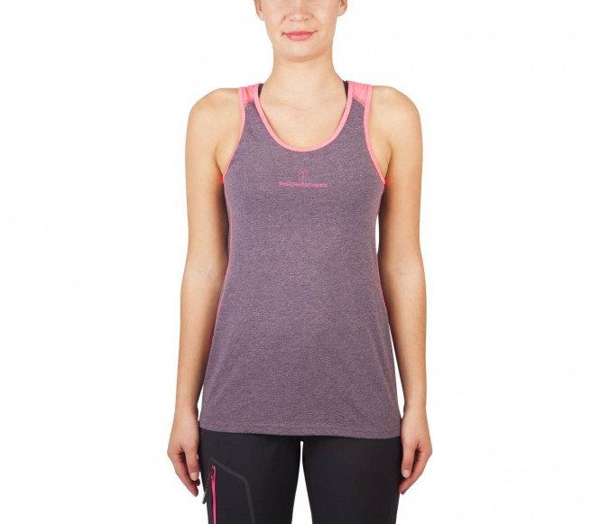 Peak Performance - BL Logo women's functional tank top (violet/pink) - XS