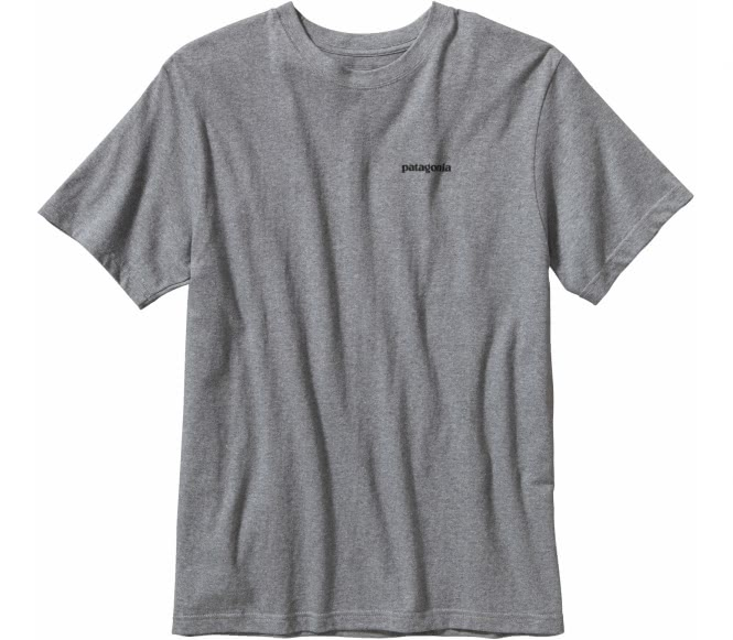 <strong>Patagonia</strong> p 6 logo cotton hommes chemise gris xl