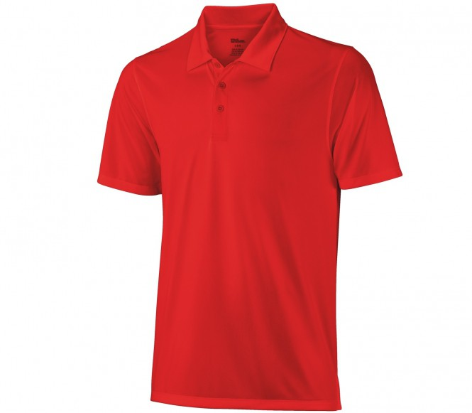 Wilson Herr On Court Poloshirt S
