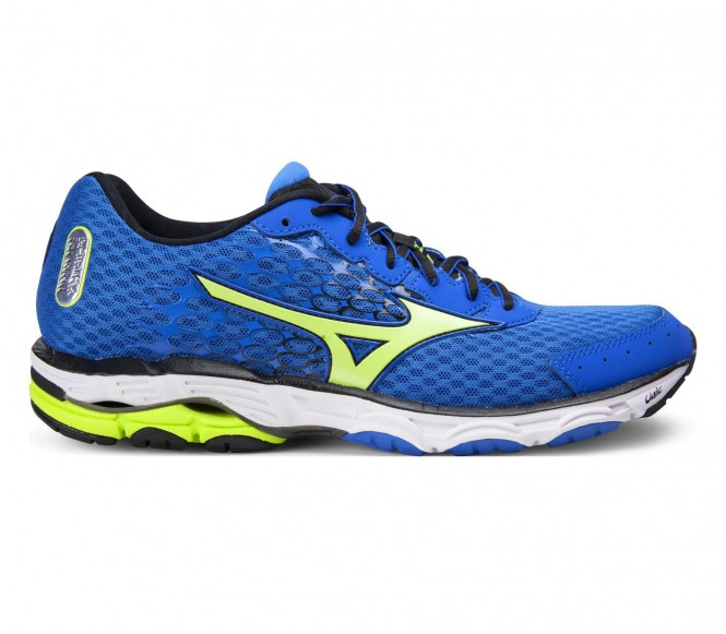 Mizuno Wave Inspire 11 men's running shoes (blue/yellow) EU 47 UK 12