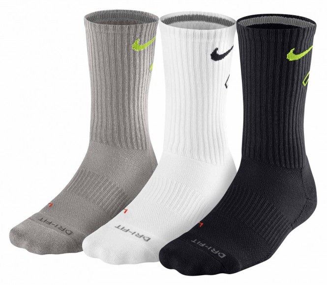 Nike Performance ULTIMATUM 3 PACK Sportsokken grey/white/black
