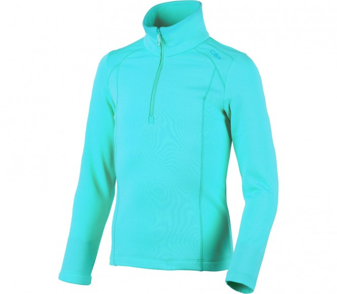 CMP - Light Stretch Performance children's ski sweater (turquoise) - 104
