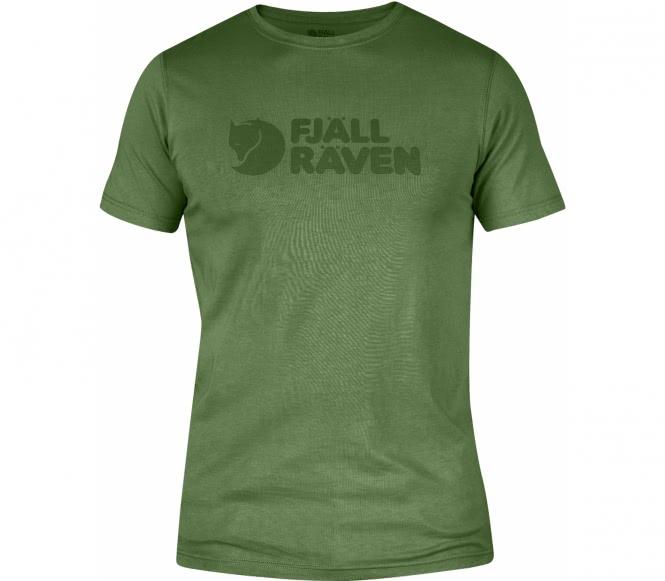 Fjällräven - Logo Mænd Udendørs skjorte (grøn) - S