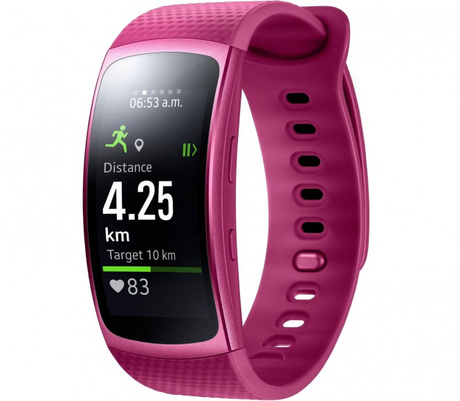 Samsung - Gear Fit 2 sports watch Level Active Headset