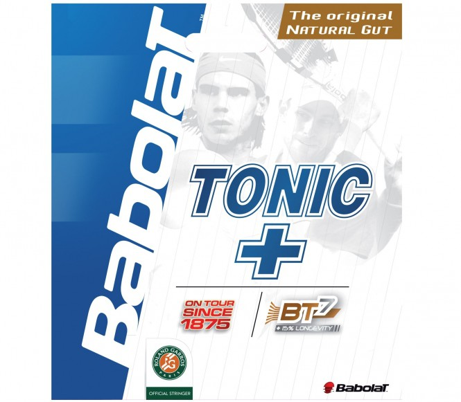 cordages de tennis - BABOLAT TONIC LONGEVITY BT7 12M  1,40MM