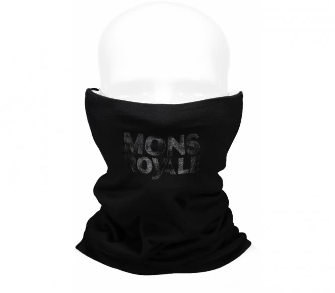 Mons Royale - Double Up Neckwarmer (schwarz)