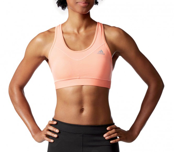 Adidas Techfit Dames Trainingsbra S roze