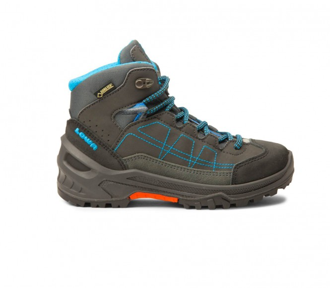 Lowa Approach GTX Mid Junior multi-function shoes (anthracite/turquoise) EU 35 UK 25