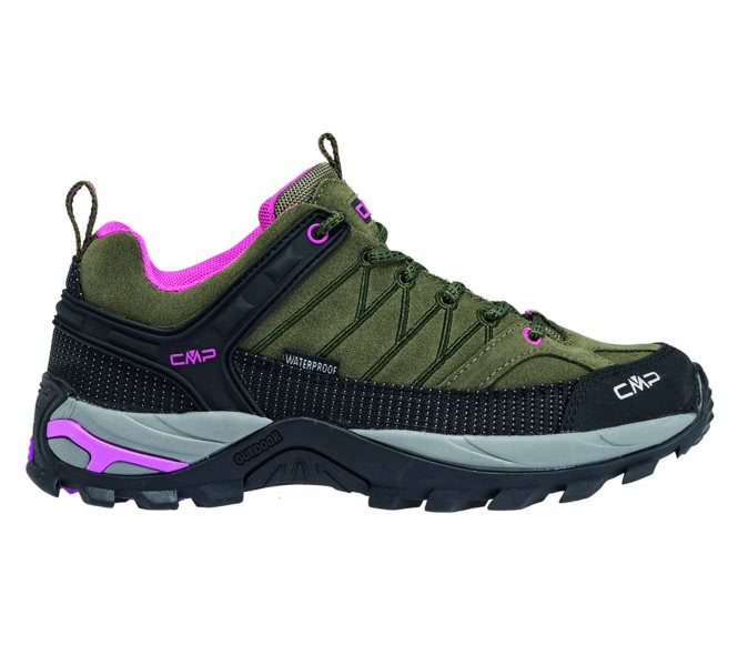 CMP - Rigel Low WP Damen Hikingschuh (grün/lila...