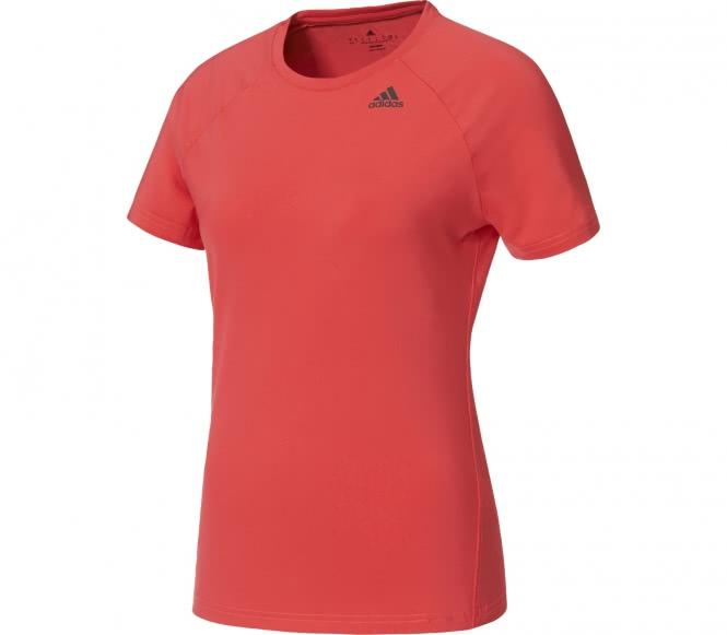Adidas - D2M Solid Damen Trainingsshirt (pink) - M