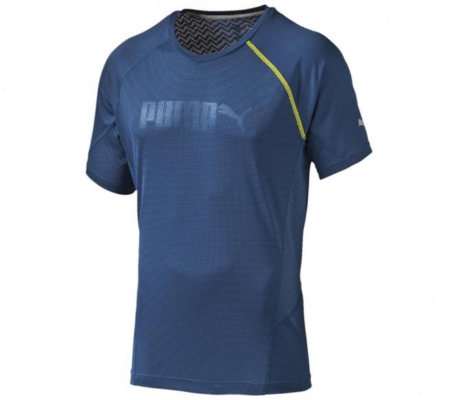 Puma Cool Embossed herr träningsshirt (mörkblå) XL