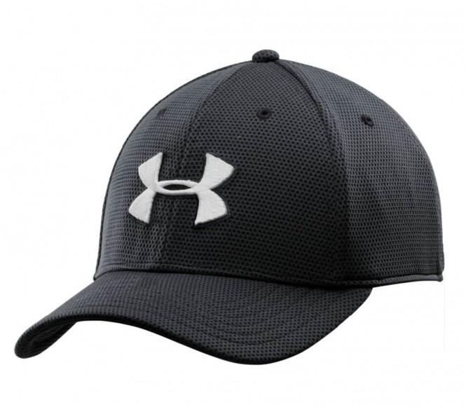 Under Armour - Blitzing II Stretch Fit Cappello sportivo da uomo (nero) - M/L