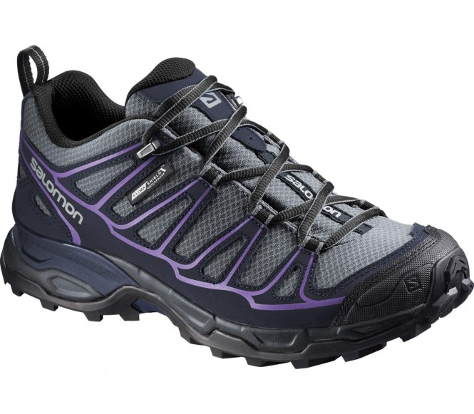 Salomon x ultra prime cs wp chaussures de randonnée pour femmes grismauve eu 40 23 uk 7