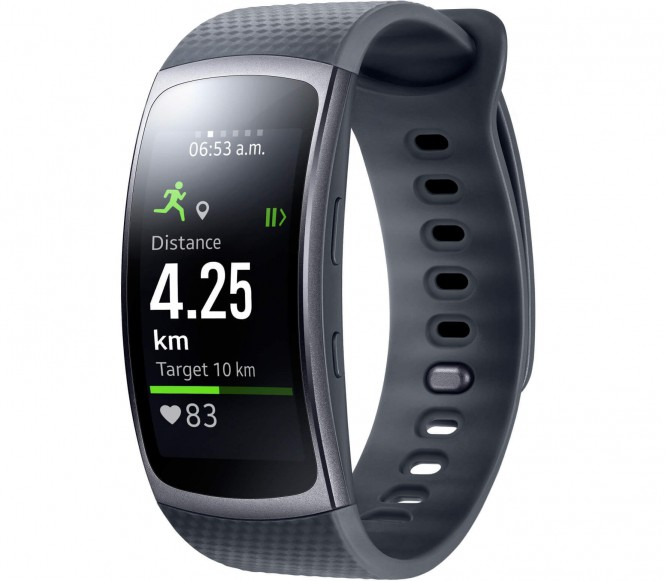 Samsung - Gear Fit 2 sports watch Level Active Headset zwart