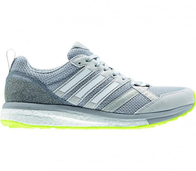 Adidas - Adizero Tempo 9 Femmes chaussure de course (gris/blanc) - EU 40 - UK 6,5