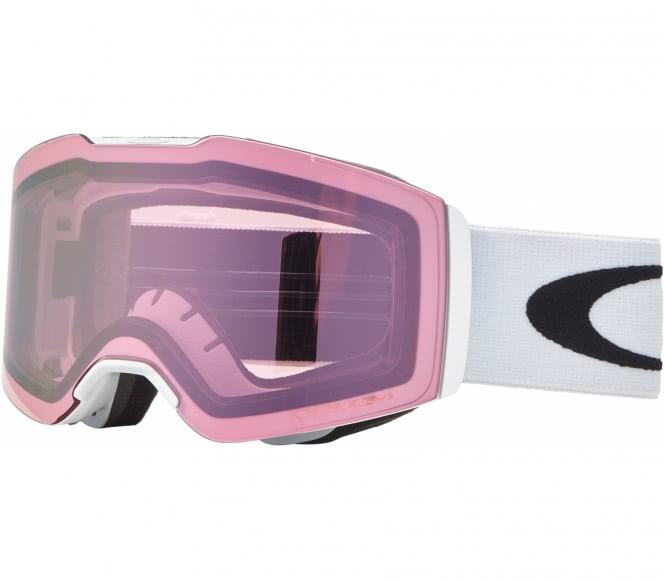 Oakley - Fall Line Skibrille (weiß/rosa)