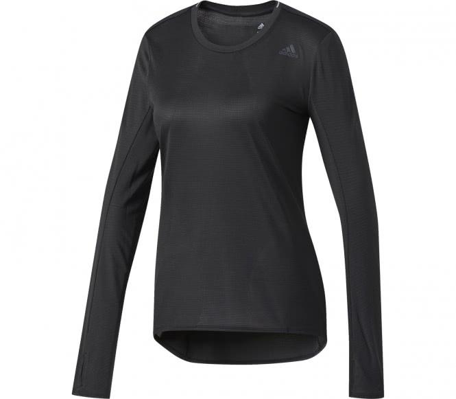 Adidas - Supernova Manche longue Femmes chemise de course (noir) - L