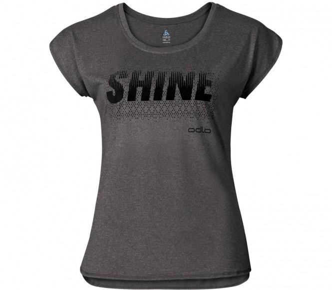 Odlo - Tebe Shortsleeve Femmes shirt de course (noir/gris) - M
