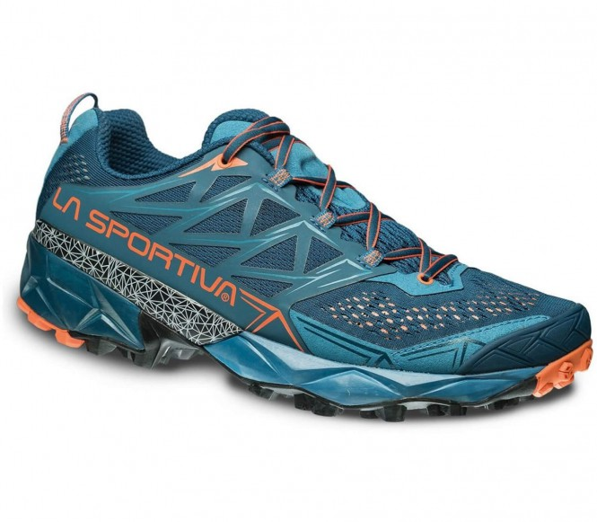 Akyra Herren Trailrunningschuh (blau/orange) - EU 42 - UK 8