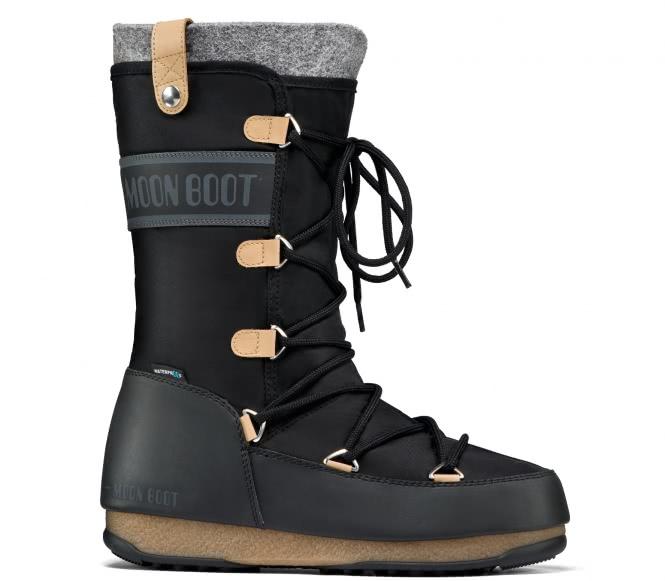 Moon Boot - Monaco Felt Winterschuh (schwarz) -...
