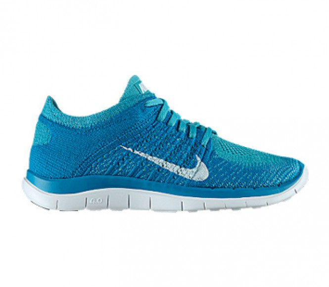 nike free flyknit 4 0 damen laufschuh t rkis wei. Black Bedroom Furniture Sets. Home Design Ideas