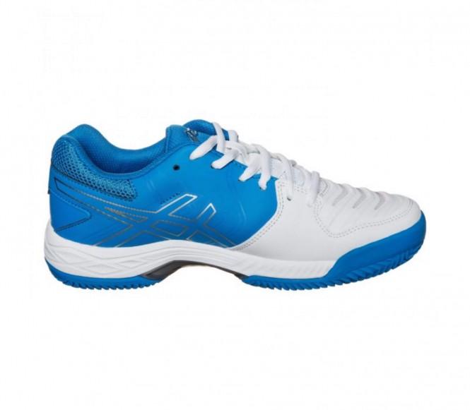 Asics gel game 6 clay femmes chaussure de tennis blancbleu eu 395 us 8