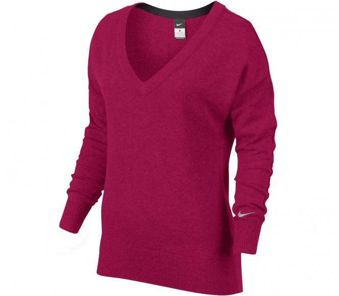 Nike - Dri Fit Knit Sweater Dames Tennisshirt - S