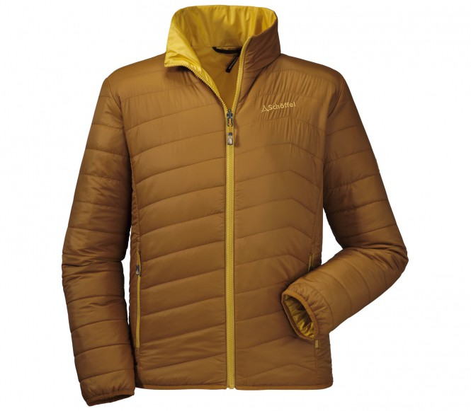 Schöffel Tanner men's synthetic fibre jacket (brun) 50