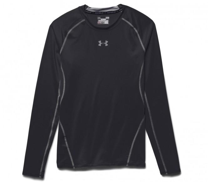 Under Armour - Armour Heatgear Longsleeve Compression Herren Trainingsshirt (schwarz) - XL