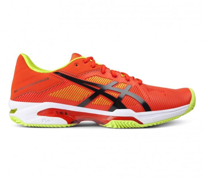 Asics - Gel-Solution Speed 3 Clay Heren Tennisschoenen - EU 42 - US 8,5 groen