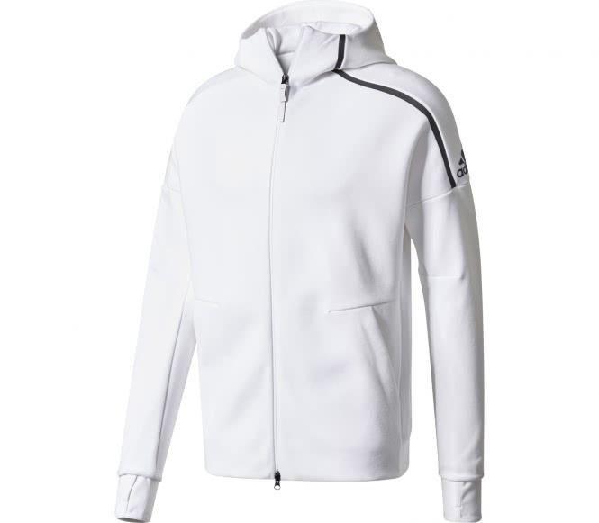 Adidas zne hommes sweat à capuche blanc xl