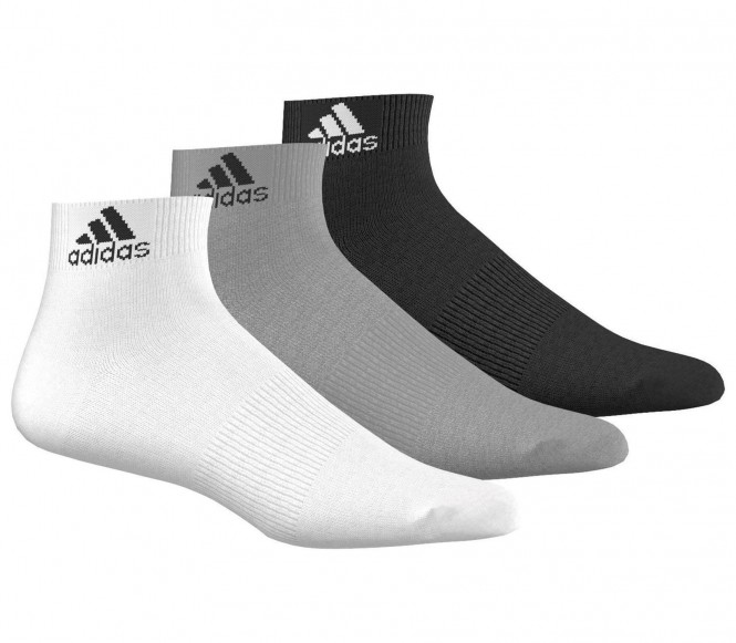 Adidas Performance Ankle Thin Trainingssokken 3 Paar S