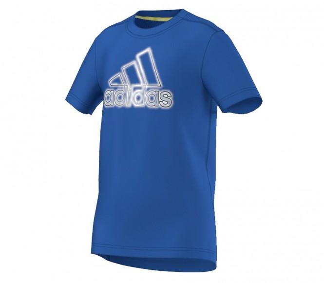 Adidas Junior running shirt (blå) 128