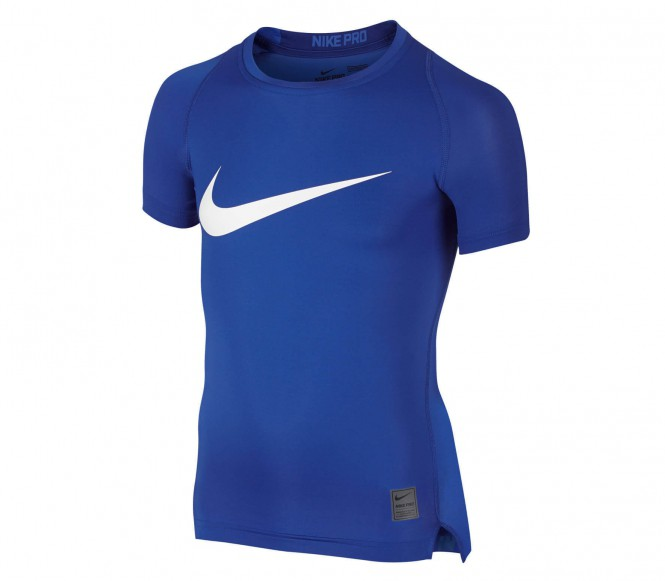 Nike - Cool HBR Compression Shortsleeve Junior Trainingshirt - XL