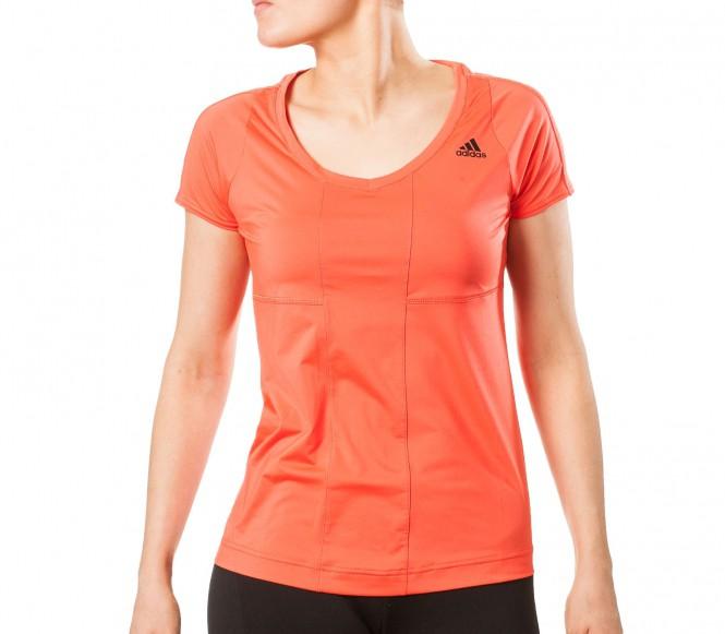 Adidas Studio Power Core T-shirt Dam (korall) M