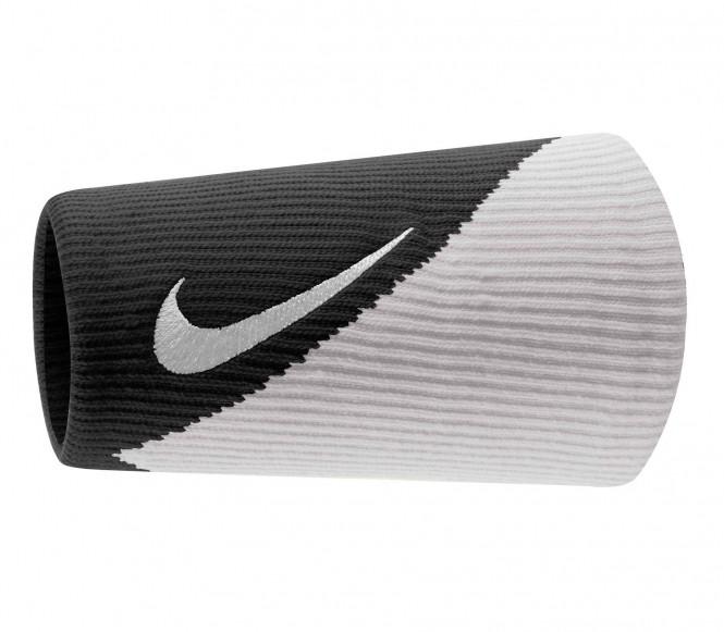 Nike Dri-Fit Doublewide Armband 2.0 (svart/vit)