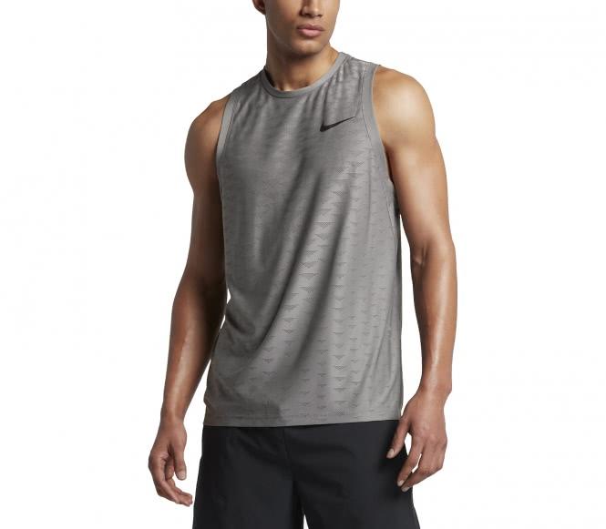 Nike - Zonal Cooling débardeur de training pour hommes (gris) - S noir