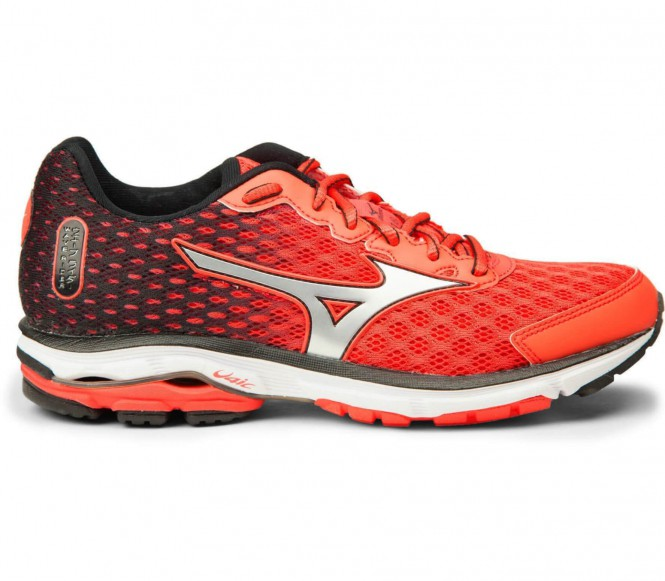 Mizuno Wave Rider 18 women's running shoes (pink/silver) EU 41 UK 75