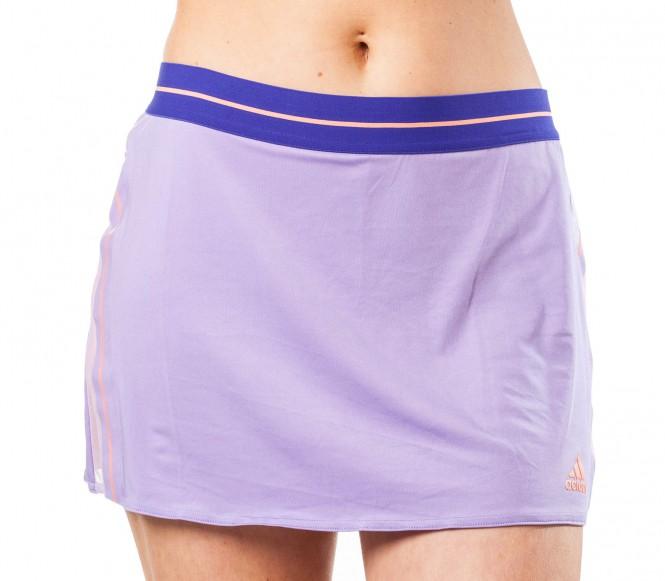 Adidas - Adizero Damen Tennisrock (lila/orange) - XS