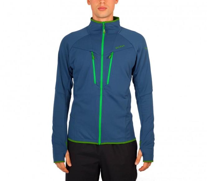Salewa Antelao Full-Zip herr funktionsjacka (mörkblå/grön) XL